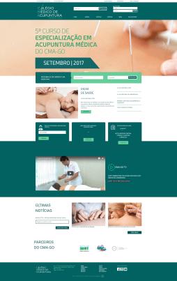 Colégio Médico Acupuntura Turrones WebSite