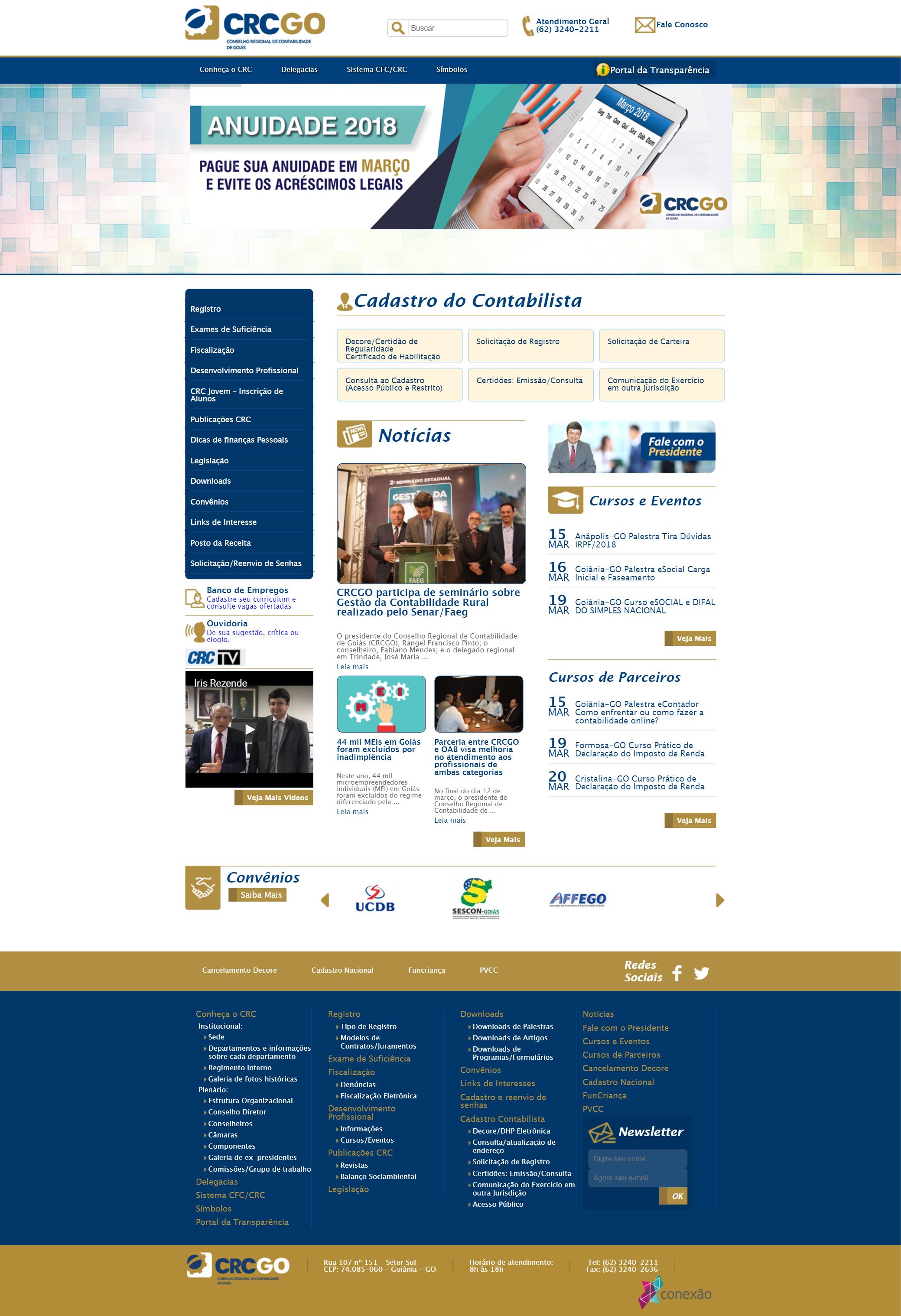 CRC GO WebSite
