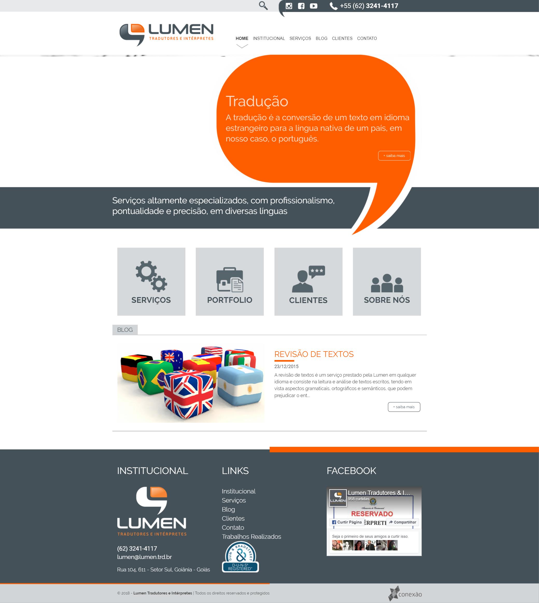 Lumen WebSite